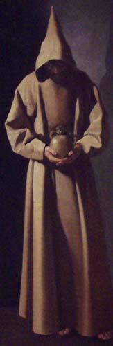 Image: Saint Francis by Francisco de Zurbaran.